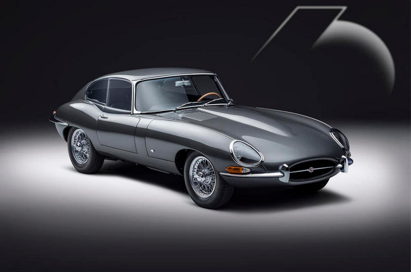 E-Type Coupe 60 Edition採用專屬Flat Out Gray車色。
