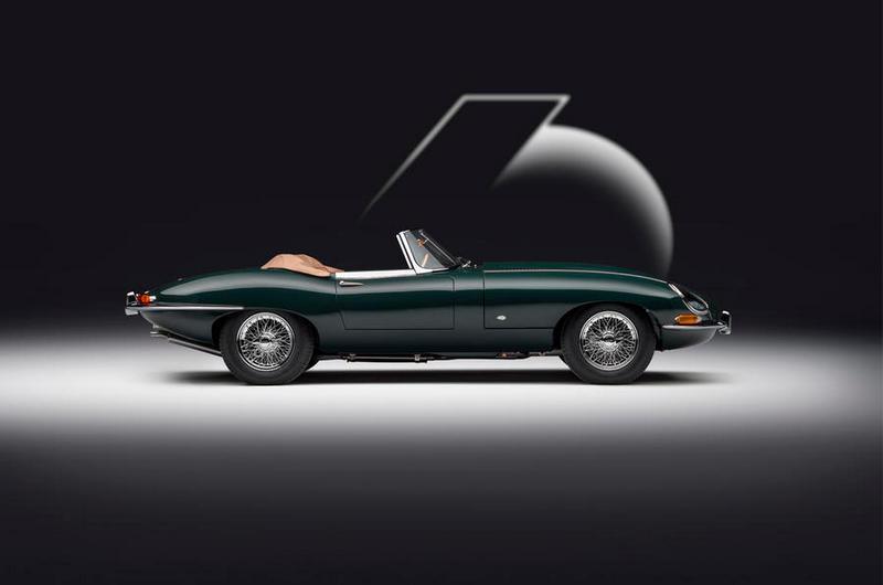 E-Type Convertible 60 Edition則是專屬Drop Everything Green車色。