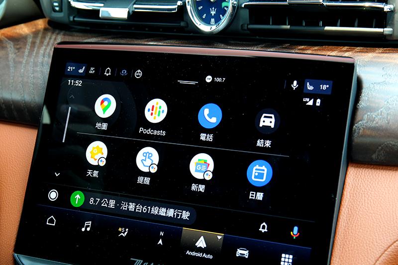 時下流行的Apple Carplay及Android Auto也是標配項目之一
