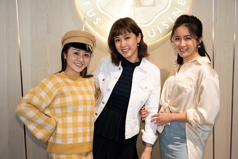 【車勢星聞】方志友加入女力與楊佩潔(左一)顏以娜(右一)閨密同住。(圖:TVBS提供)