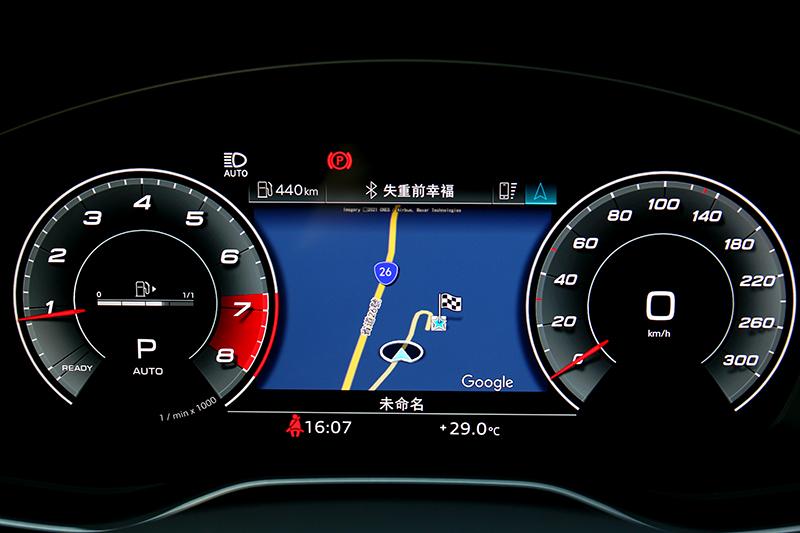 全車系標配12.3吋數位儀表,並提供三種介面可依喜好自行選擇。