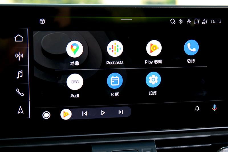 支援Android Auto與無線Apple CarPlay。