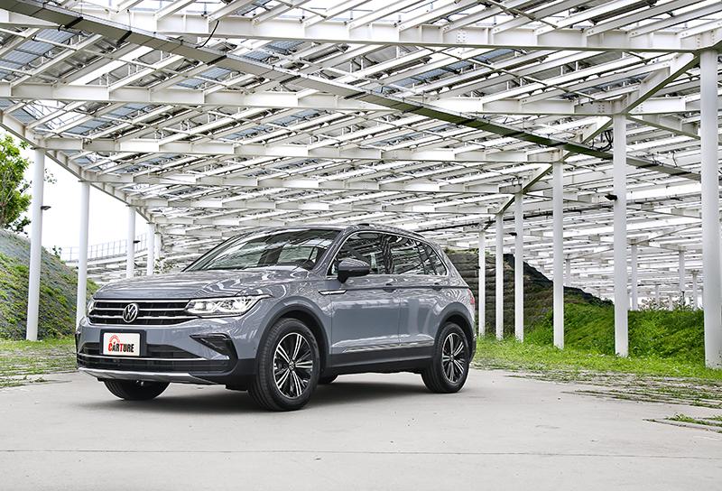 此次Volkswagen Tiguan雖為小改車型,但於外觀、配備與引擎等都有調整升級。