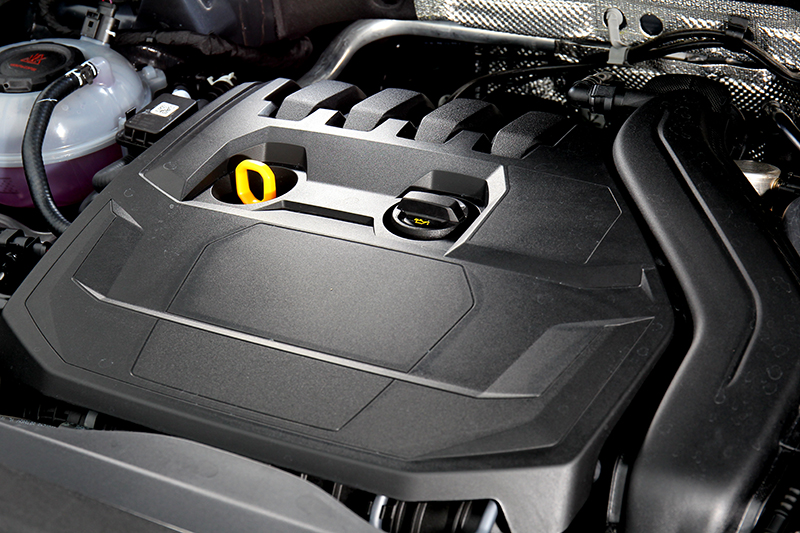 小改Tiguan 280 Elegance引擎改為1.5升渦輪引擎,並具有汽缸休止系統。