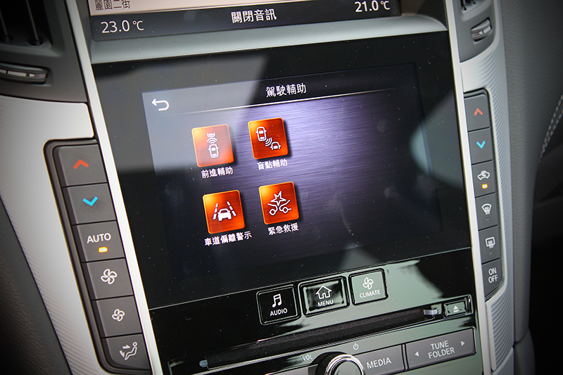 ProActive先進駕駛輔助系統下轄的各項主動控制以現今角度看依舊全面。