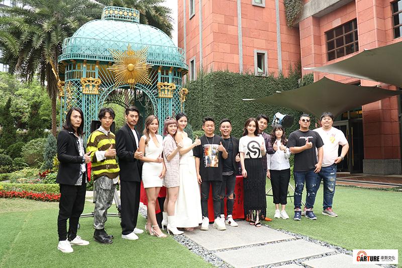 【車勢星聞】電影《山中森林》舉行開鏡,姜寧率領主要演員出席。