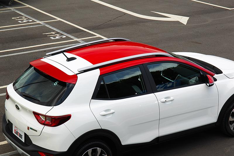 Two-Tone雙車色在1.0T車款上是標配,不再需要加價選購