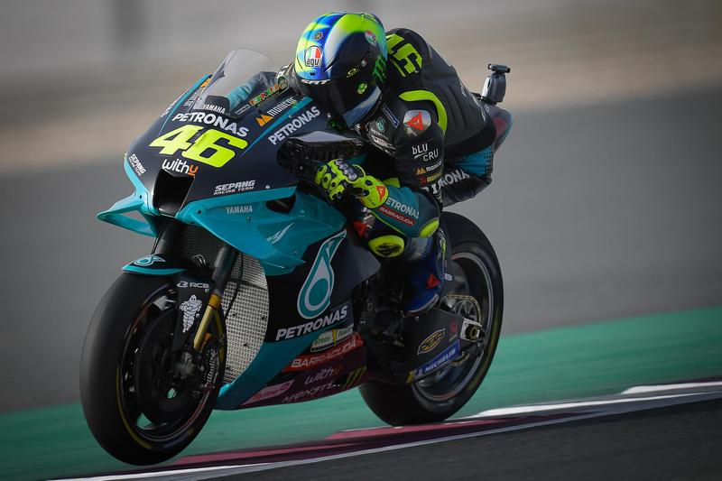 Rossi排位賽表現不佳於最後起跑,正賽也未能有出色表現一直處於最後段掙扎。
