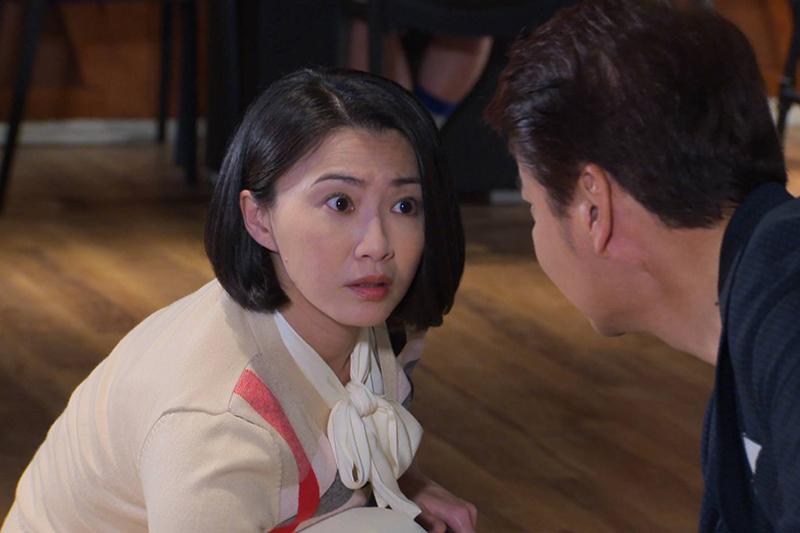 【車勢星聞】侯怡君表示演陳秋鴻很開心,當阿嬤了還有帥大叔來追。(圖:民視提供)