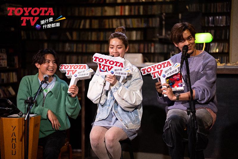 Toyota TV攜手《告五人》為巡演暖身開唱,自爆曾是「車床族」。