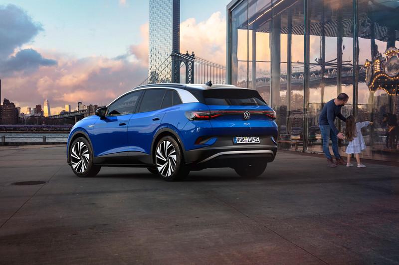 日前Ford被捕捉到的偽裝車,據了解是搭載MEB平台的電動車,其規格有著和ID.4相近的水準。