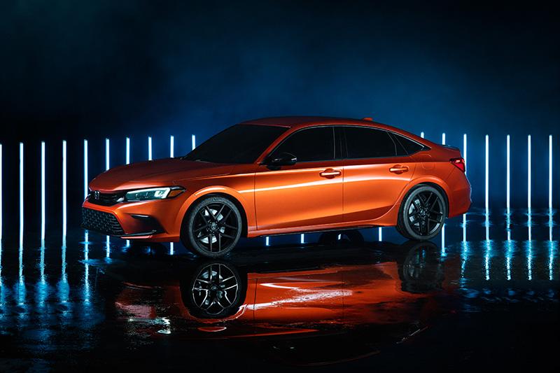 Honda公布11代Civic,造型設計與原型車相同。