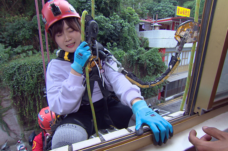 【車勢星聞】《在台灣的故事》楊小黎挑戰特殊職業,直呼「當主持人就好」。(圖:三立提供)