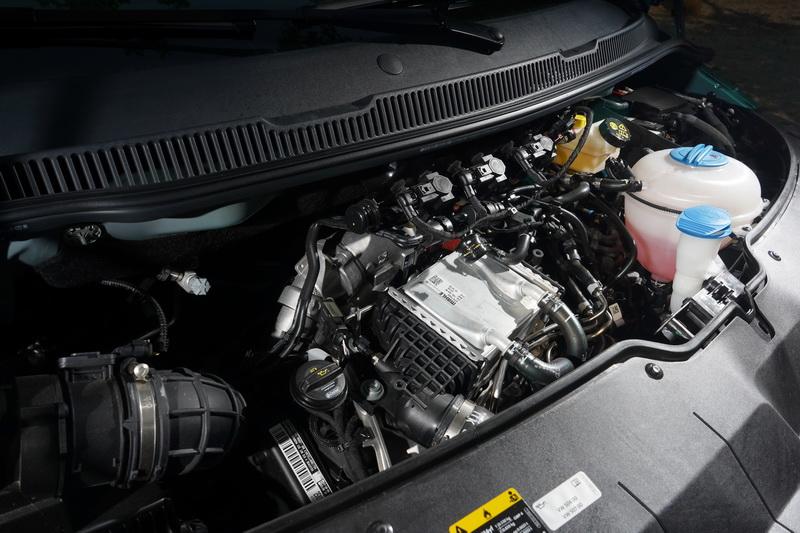 California Ocean動力與Multivan同樣搭載可輸出199匹馬力的2.0升四缸柴油引擎