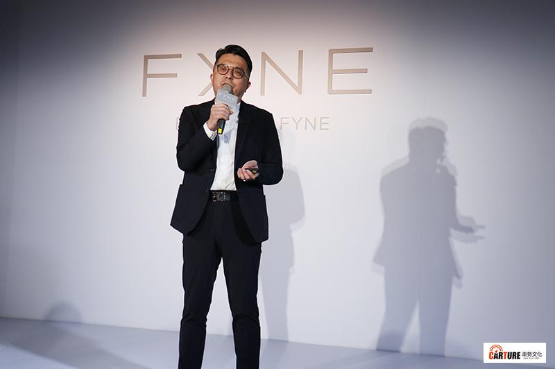 全台首創100%永續時尚品牌Fyne王志仁總經理。