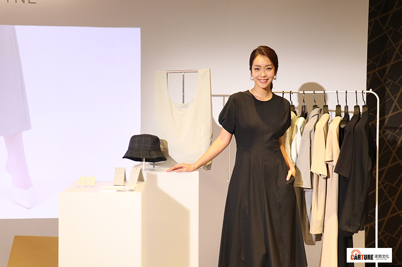 【車勢星聞】藝人李霈瑜(大霈)出席Fyne品牌記者會。