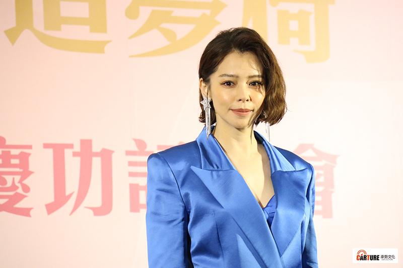 【車勢星聞】徐若瑄擔任輝葉代言人出席品牌活動記者會。