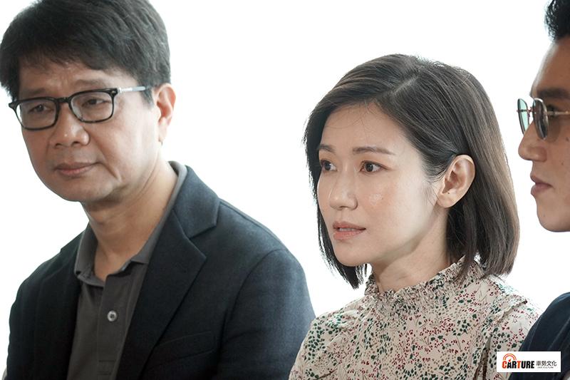 【車勢星聞】周幼婷(右)睽違5年接演《人浮於愛》。