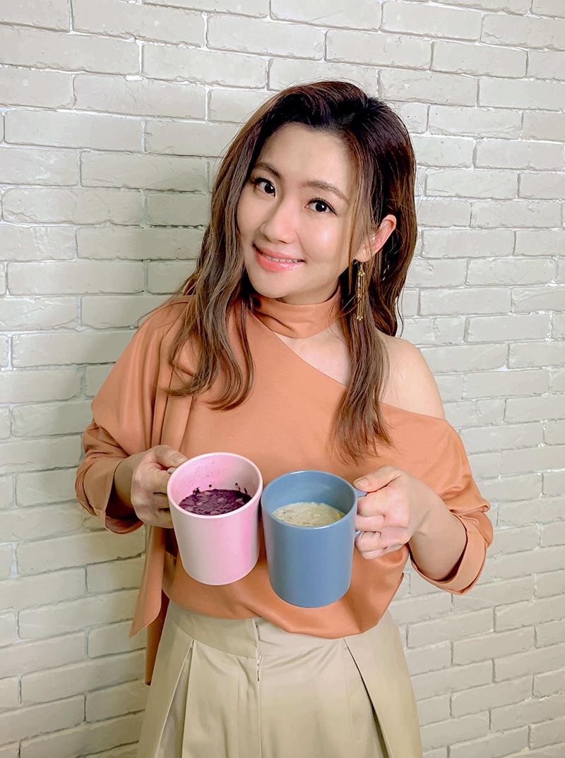 【車勢星聞】Selina任家萱「任性eat下」推出兩款全新口味,5月舉辦粥品見面會。(圖:任性eat下提供)