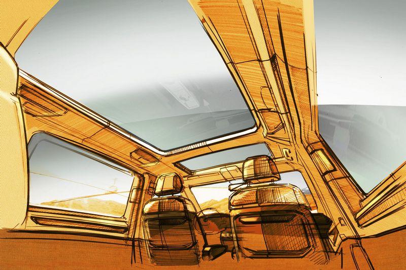 T7 Multivan第三排座椅將採獨立式設計。
