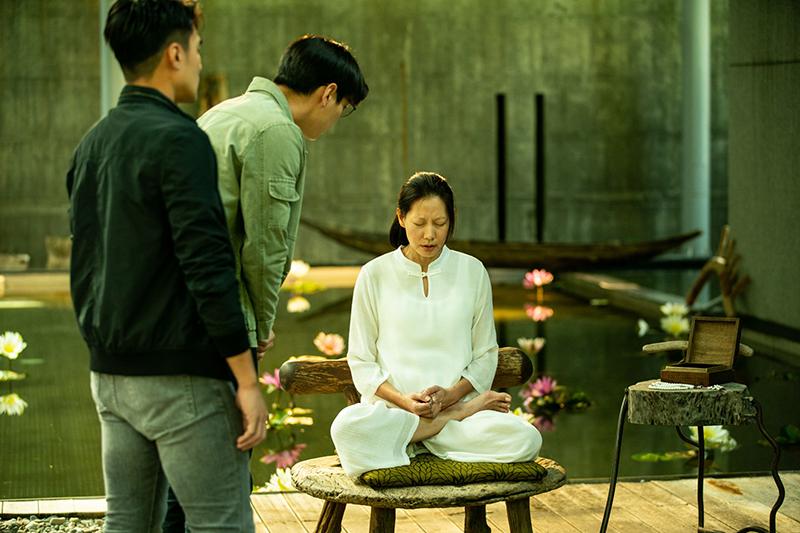 【車勢星聞】《靈語》丁寧仙氣噴發,楊丞琳大讚:感受到她的慈悲心。(圖:甲上提供)