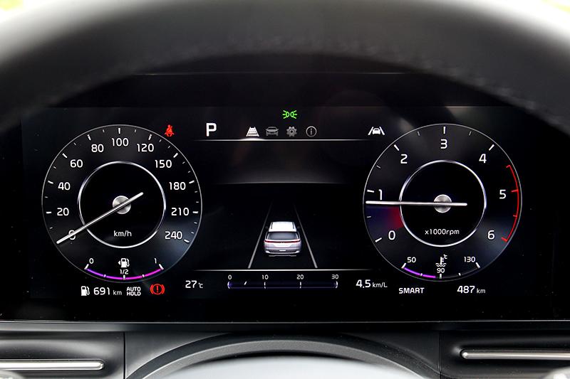 智慧巡航、車道維持、後方交通防撞主動煞車、前方碰撞警示等安全科技一樣不缺。