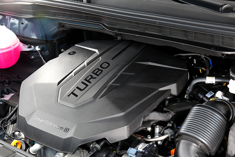 2.2升柴油引擎具有202hp/45kgm輸出。