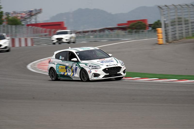 由Ford、米其林與aai賽車團隊聯手打造的Focus麗寶挑戰賽。