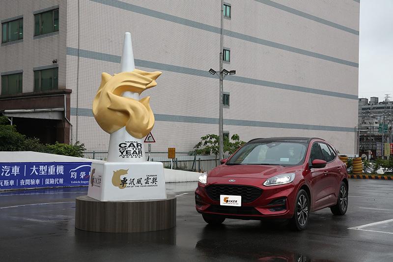 2021最佳國產中型SUV:Ford Kuga。