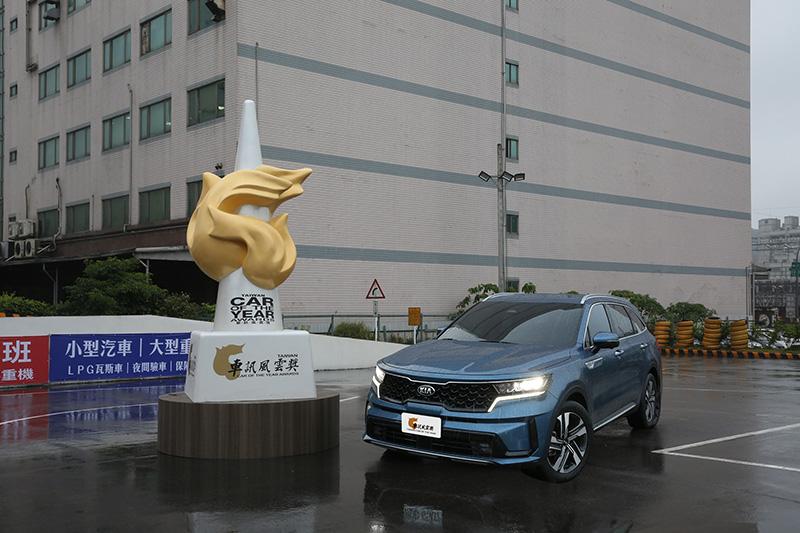 2021最佳進口大型SUV:Kia Sorento。
