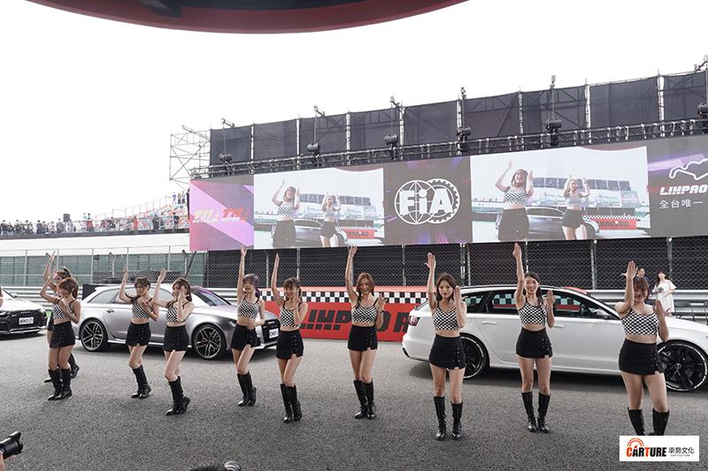 【車勢星聞】姚元浩成立賽車女孩團體《浩星女孩》應援賽車運動。
