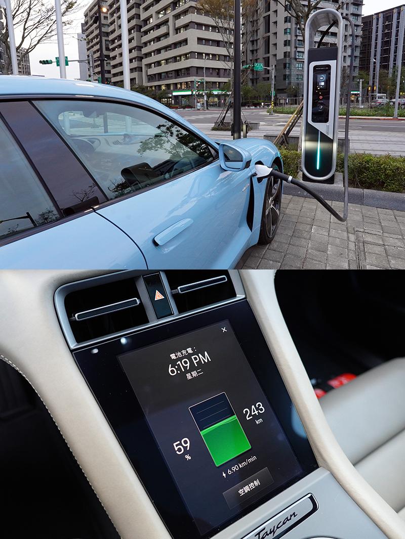 充電方面,Taycan車主享有24個月保時捷充電服務會員資格,可免費使用設置於台灣東、西岸的8個高速充電站;此外,台灣保時捷還與大型購物中心、渡假中心、觀光景點與高爾夫球場合作,設置19個目的地充電站。