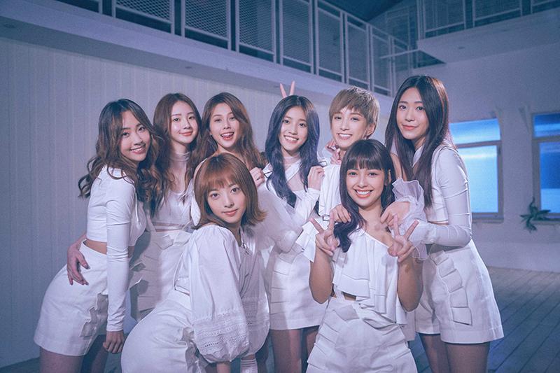 【車勢星聞】女團Pink Fun〈愛喲〉全員大放電,5/9前進中南部舉辦簽唱會。(圖: 索尼音樂提供)