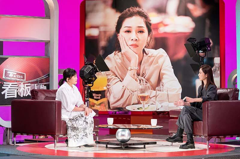 【車勢星聞】謝盈萱自我要求標準高,演出前提醒要對「金馬影后」標籤負責。(圖: TVBS提供)