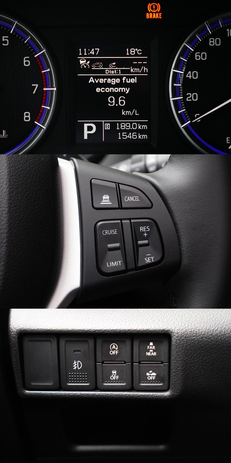 新年式SX4最大的改變就是新增了ACC主動式車距巡航系統與RBS雷達感知煞車輔助兩項目前主流的主動安全配備。