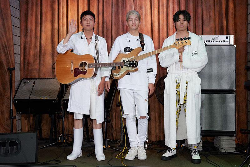 【車勢星聞】《鹿洐人》樂團成軍兩年推首張專輯「你在開玩笑嗎?」。(圖:福桑音樂提供)