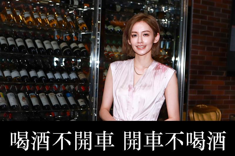 【車勢星聞】袁艾菲在民視金鐘劇《日蝕遊戲》中演出「禮物女星」。(圖:民視提供)