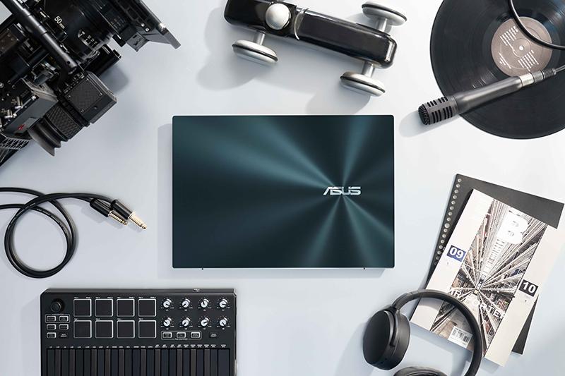 「雙螢幕筆電之王」ASUS ZenBook Pro Duo 15 OLED (UX582)升級登場,為多工作業首選,席捲創作者筆電市場(圖:品牌提供)