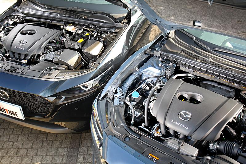 今天到場的MAZDA3與MAZDA6 Wagon恰好皆搭載2.0L SKYACTIV-G引擎,不僅165ps/21.7kg-m輸出圓熟飽滿,運轉質感與聲響更是如絲甜酣。