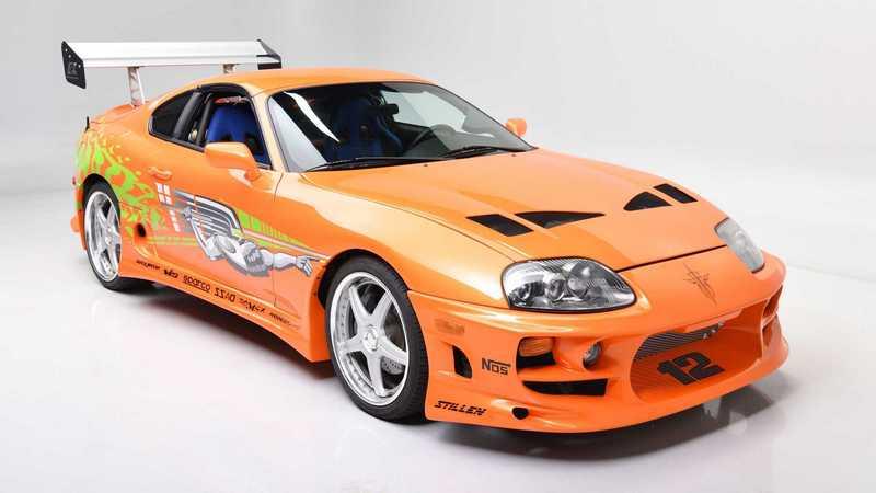 《玩命關頭1》Toyota Supra將於6月在Barret Jackson拍賣會競標。