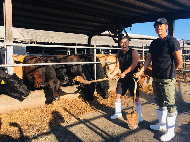 【車勢星聞】《就是這味-玖浩吃》前往雲林拜訪養殖牛達人,一探生產冠軍牛肉的秘密。(圖:三立提供)