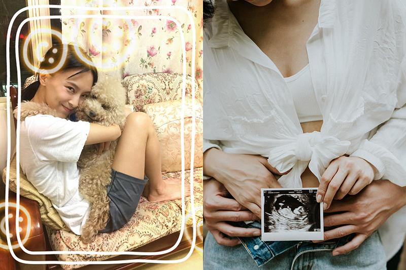 【車勢星聞】陳瑋薇備孕三年,火化毛小孩當天驗孕不敢相信真的有了 。(圖:齊石提供)