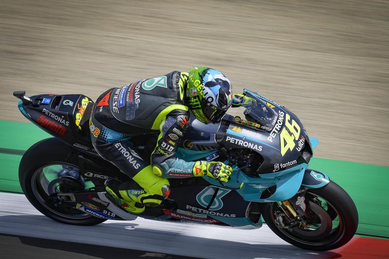 Rossi本站取得第10名成績。