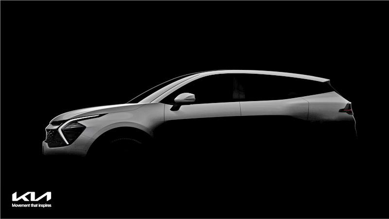 Kia新世代Sportage外觀採用EV6設計元素。