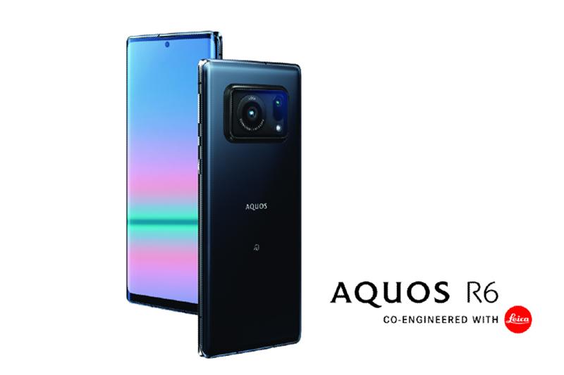 徠卡相機、夏普合作第一彈,AQUOS R6智慧型手機日本上市。(圖:品牌提供)