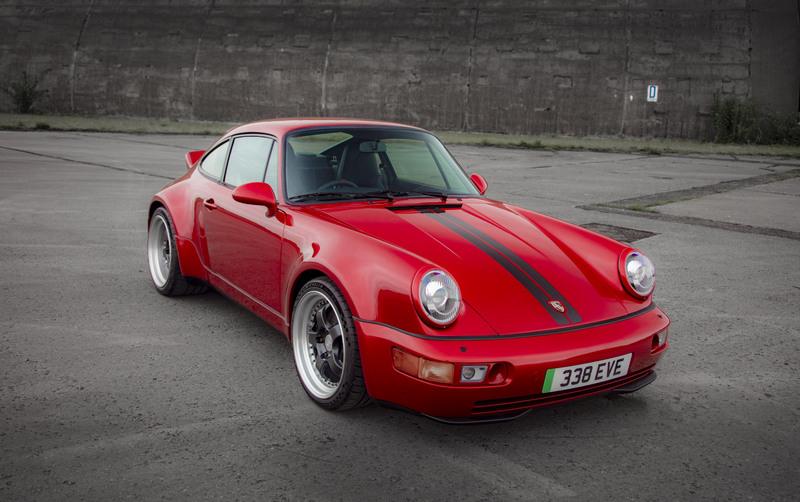 英國Everrati這次將Porsche 964世代911變成電動車。