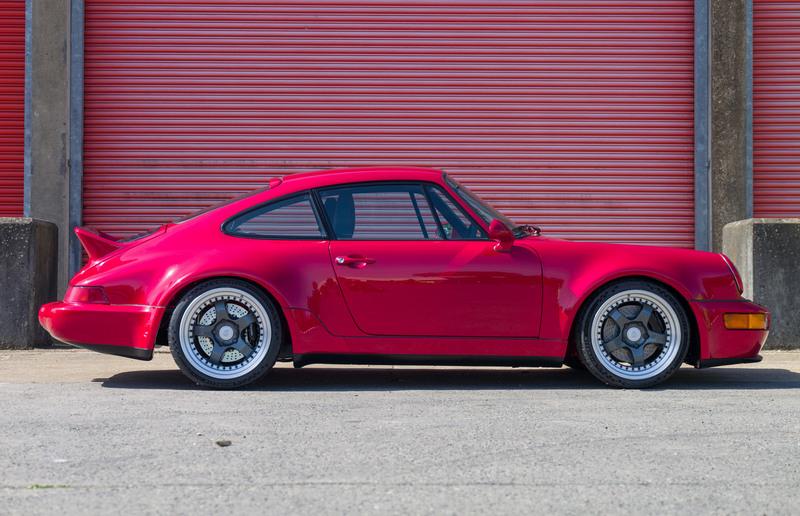 電動版Porsche 964擁有500hp/50.9kgm動力輸出。