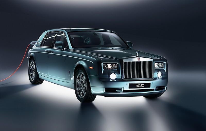 Rolls-Royce日前表示品牌首款電動車車名為Silent Shadow。(圖為102EX)