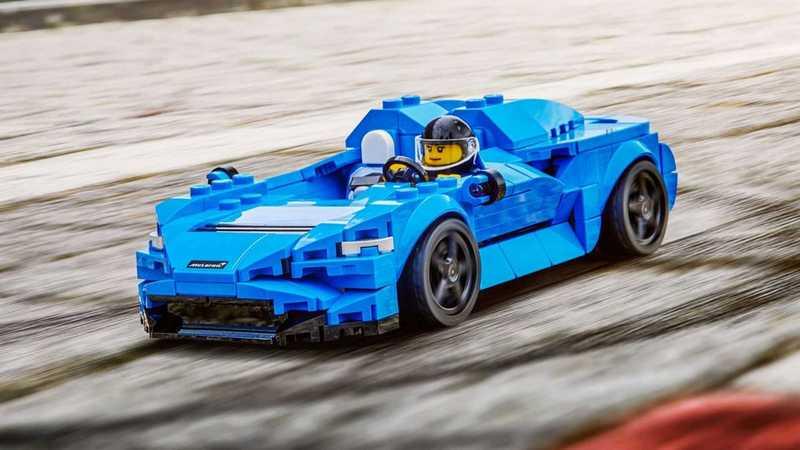 Lego推出McLaren Elva新產品。