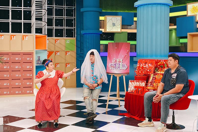 【車勢星聞】《這事有影嘸》哈孝遠老婆辦婚禮目的是「賺錢」,來賓們大讚「直白又實際」。(圖:民視提供)